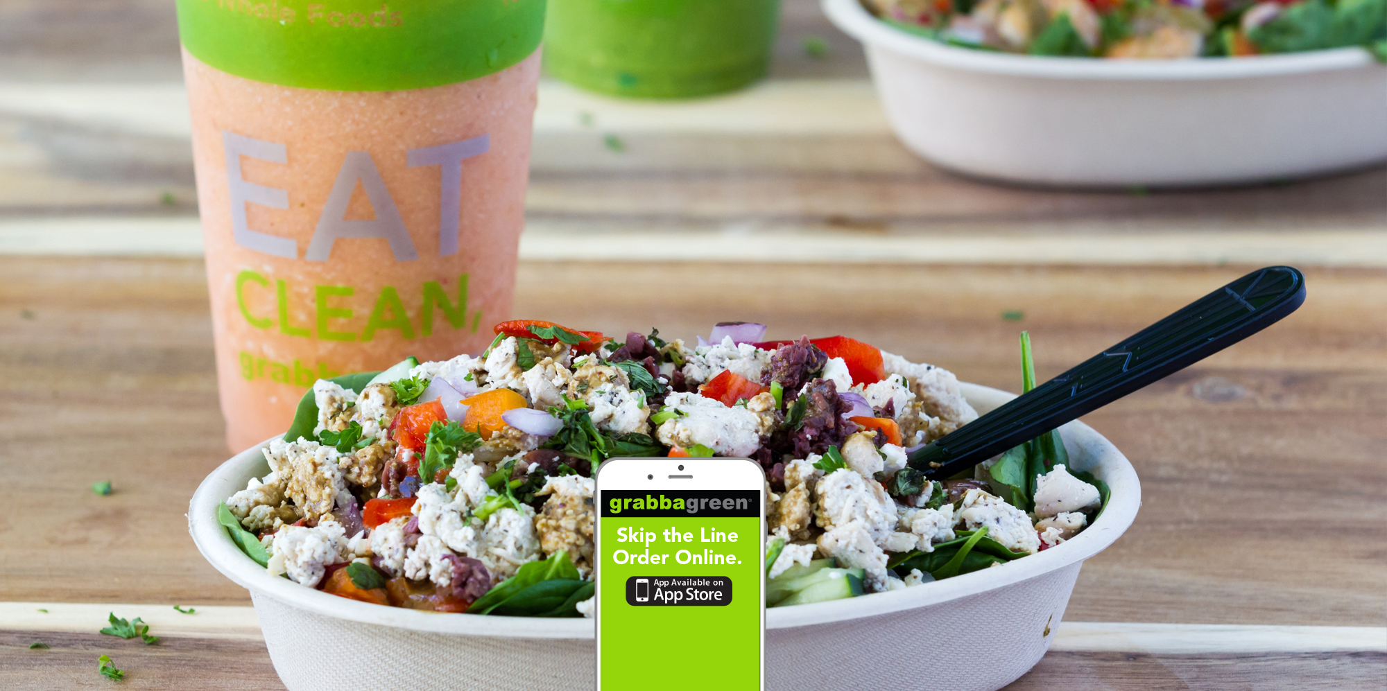 Grabbagreen Is Your Best Option For Whole Food Healthy Meals